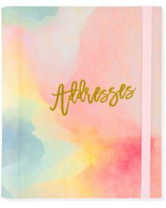 Address Book (Large) - Watercolour Sunset