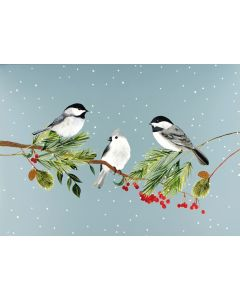 Birds on branches - Premium Boxed cards