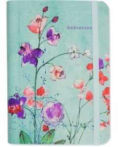 Address Book - Fuchsia Blooms