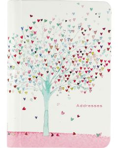 Address Book - Tree of Hearts