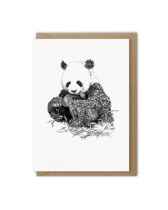 Giant Panda Card