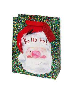 Ho Ho Ho Santa Gift Bag & Gift Tag