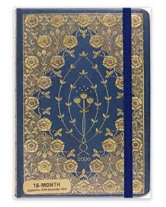 16-month 2020 Diary - ON SALE - Gilded Rosettes