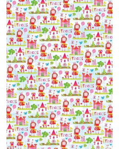 Princess Folded Wrapping Paper
