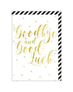 Goodbye & Good Luck BIG Card