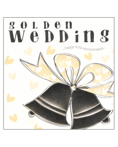 'Golden Wedding' Card