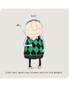 Golf - Like a real sport.....