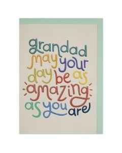 GRANDAD Card - Amazing Day