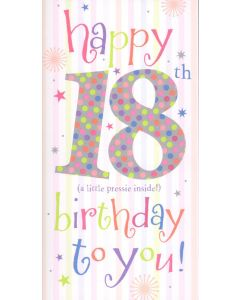 18th Birthday Money/Gift Voucher Wallet