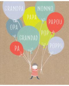 Grandfather Birthday - Grandpa/Pa/Pop/Papa etc.