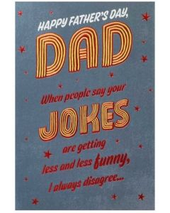 Father's Day Card - Dad Jokes