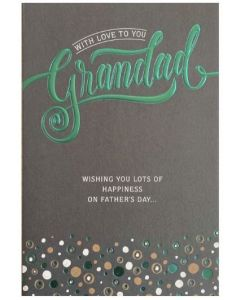 Father's Day Card - With Love to You GRANDAD