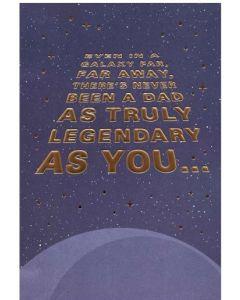 Father's Day Card - A Galaxy Far Far Away