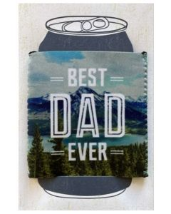 Father's Day - Best DAD with Stubby holder