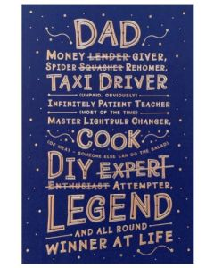 Father's Day - DAD...Taxi Driver