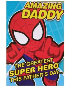 Daddy Father's Day - Spiderman