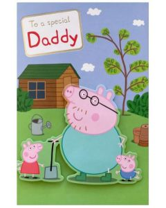 Daddy Father's Day - Peppa Pig card