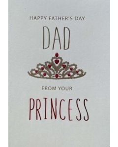 Father's Day - From Princess - Crown