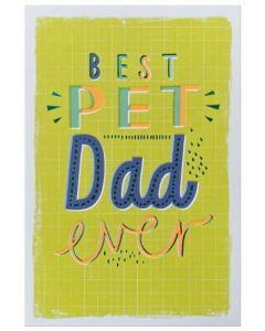 Father's Day - 'Best PET Dad'