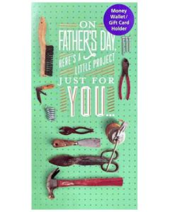 Father's Day - Gift card holder - TOOLS