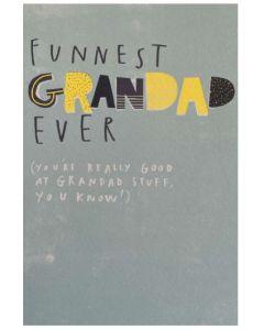 Grandad Father's Day - 'Funnest' Grandad Ever