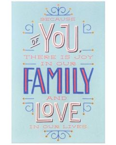 Father's Day Card - HUSBAND Because of You...