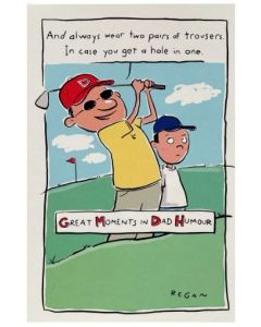 Father's Day - Golf, two trousers