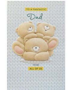 Father's Day - Fantastic dad, bears