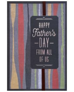 Father's Day - From All of Us - Stripes
