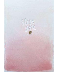 I Love you - card