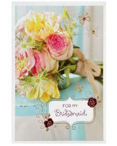Bridesmaid Thank you - Rose bouquet