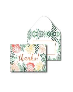 Thank You Cards - Floral (10 cards)