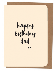 'Happy Birthday Dad' Card