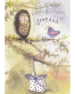 'Happy Birthday Grandad!' Card