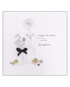 'Happy Birthday to a Very Special Daughter' Card