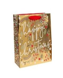 Happy Christmas Gift Bag with Gift Tag