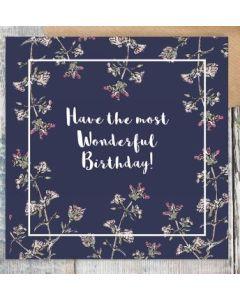 Birthday - Have the most wonderful.......