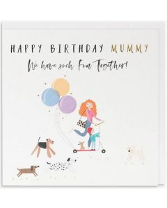 MUMMY Card - Fun Together (Scooter)