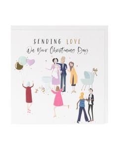 CHRISTENING Card - Sending Love
