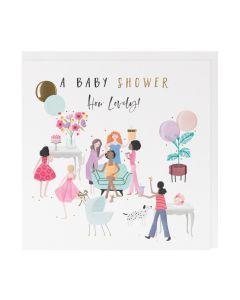 BABY SHOWER Card - How Lovely