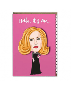 'Hello, it's Me' Card