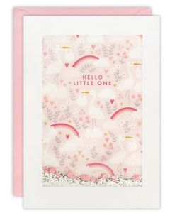 Hello Little One - Baby card