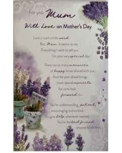 Mother's Day - Lavender with love