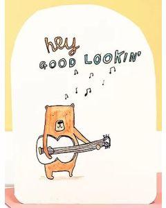 Hey Good Lookin' - Bear & guitar