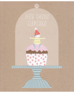 'Hey There Cupcake' Card