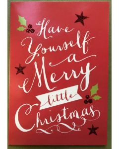 Christmas card pack - Have yourself a Merry little Christmas