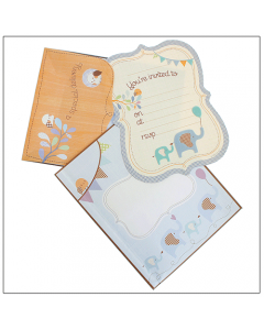 Boy Invitation Kit