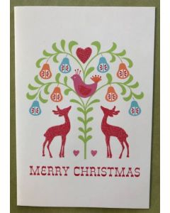 Christmas card pack - Partridge & Pears