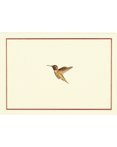 Hummingbird Flight Notecard Box
