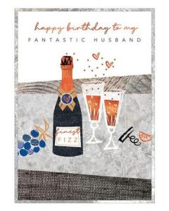 Husband Birthday - Champagne celebrations